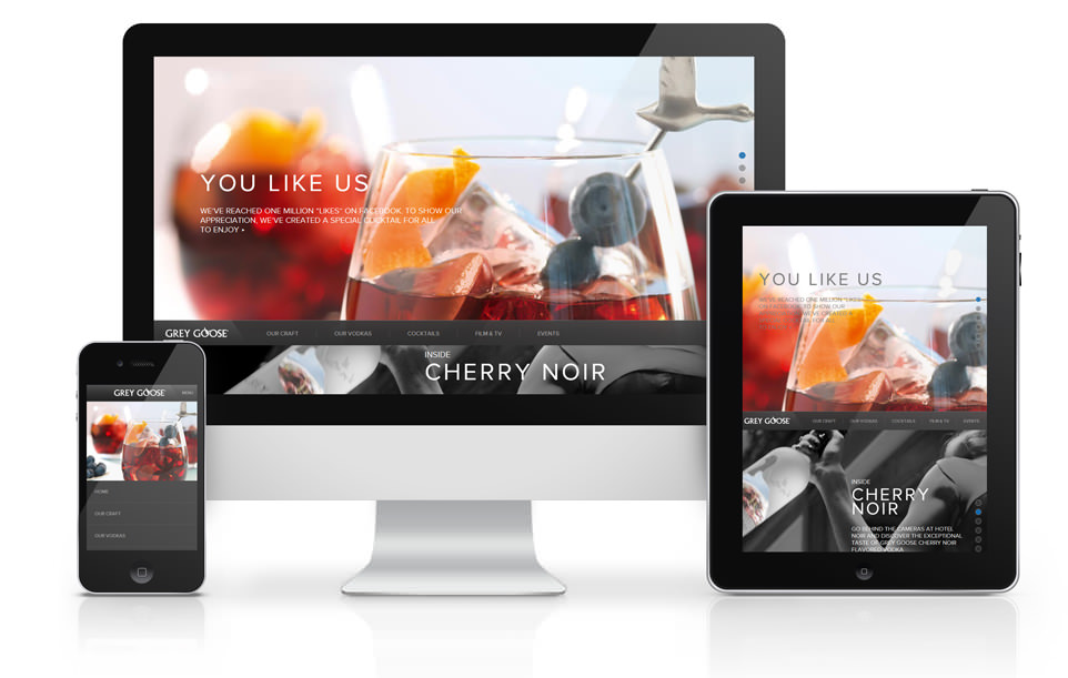 Responsive or Adaptive website design